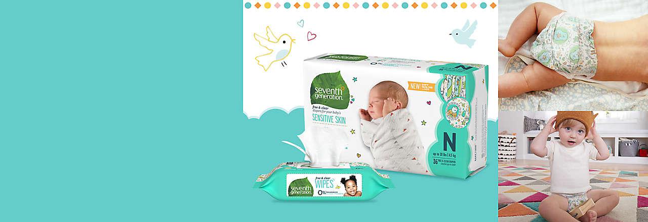 sensitive skin diapers