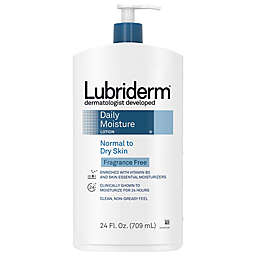 Lubriderm 24 oz. Fragrance-Free Daily Moisture Lotion for Normal to Dry Skin