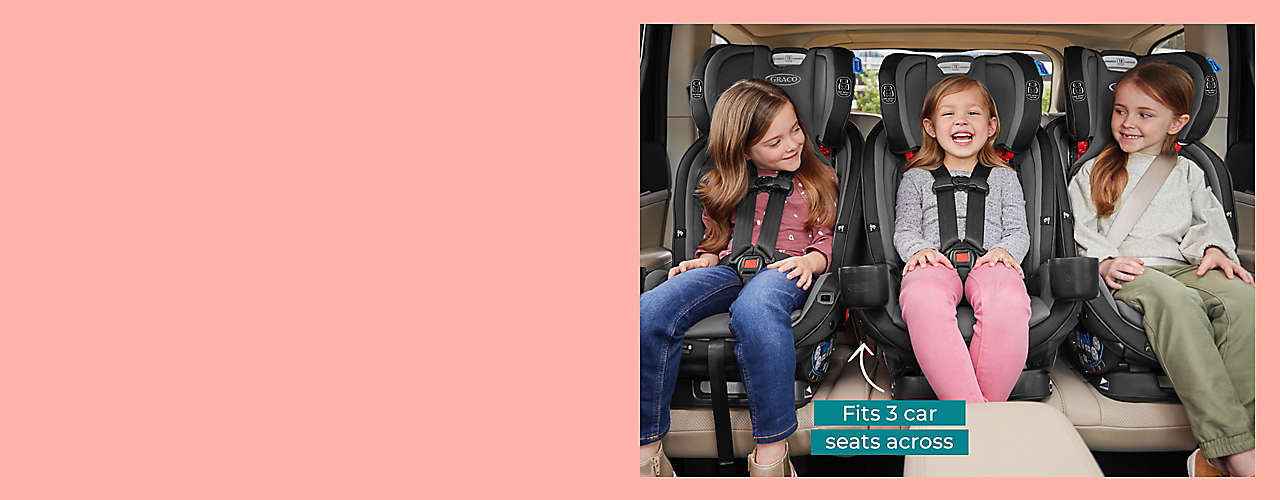 Meet the Graco® Premier 4Ever® DLX Extend2Fit® 4-in-1 Car Seat.