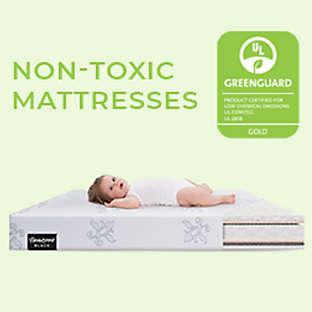 Crib and toddler mattresses