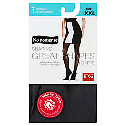 No Nonsense® XXL Shaping Great Shapes® Tights in Opaque Black