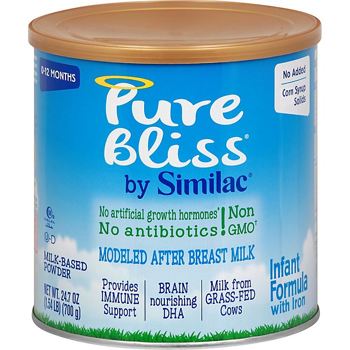 Alternate image 1 for Pure Bliss® by Similac® 1.54 lb. Infant Formula Milk-Based Powder with Iron
