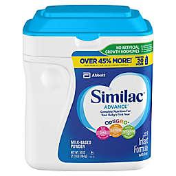 Similac® Advance® 34 oz. Value Size Infant Formula Powder