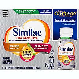 Similac Pro-Sensitive® HMO 6-Count Single-Serve Ready-to-Feed Formula