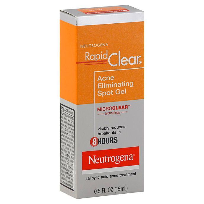 Alternate image 1 for Neutrogena® Rapid Clear® .5 oz. Acne Eliminating Spot Gel