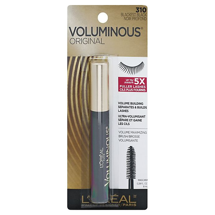 Alternate image 1 for L'Oréal® Paris Original Voluminous® Volume Building Mascara in Blackest Black