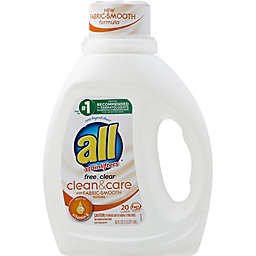 all® Free Clear Stainlifters 36 fl. oz. Liquid Laundry Detergent