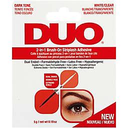 Ardell® Duo 2-in-1 Brush On Striplash Adhesive