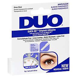 Duo® Quick-Set™ Striplash Adhesive in Clear