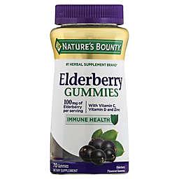 Nature's Bounty® 70-Count Elderberry Gummies