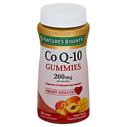 Nature's Bounty® 60-Count 200 mg Co Q-10 Gummies in Peach Mango