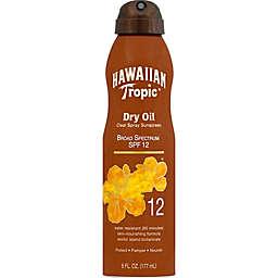 Hawaiian Tropic® Dry Oil 6 oz. Clear Sunscreen Spray SPF 12