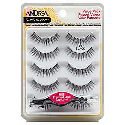 Andrea® 5-of-a-Kind™ Lashes Value Pack with Applicator in Black 21