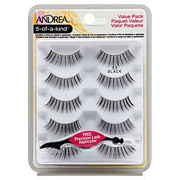Andrea® 5-of-a-Kind™ Lashes Value Pack with Applicator in Black 53
