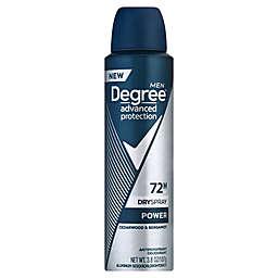 Degree Men Advanced Protection 3.8 oz. Power Antiperspirant Spray in Cedarwood and Bergamot
