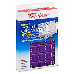 Harmon® Face Values™ Deluxe Weekly Pill Organizer