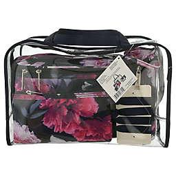 Modella® 8-Piece Blockbuster Floral Travel Set in Blue