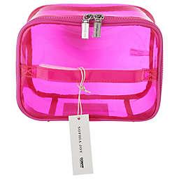 Sophia Joy Train Case in Tinted Pink