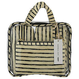 Sophia Joy 4-Piece Striped Tote Bag