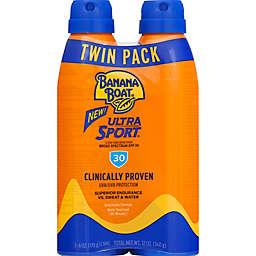 Banana Boat® 2-Pack Ultra Sport™ 12 fl. oz. Clear Ultramist® Sunscreen Spray SPF 30