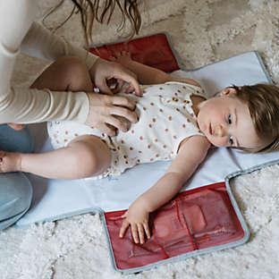 Portable changing mats