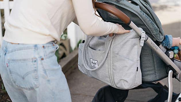 Diaper totes & backpacks