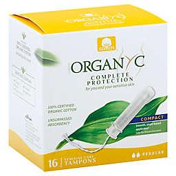 Organyc 16-Count Regular Tampons