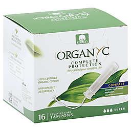 Organyc 16-Count Super Tampons