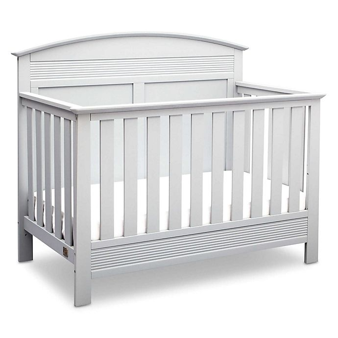 Alternate image 1 for Serta® Ashland 4-in-1 Convertible Crib in White