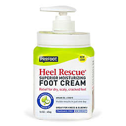 ProFoot® Heel Rescue 16 oz. Superior Moisturizing Foot Cream with Argan Oil