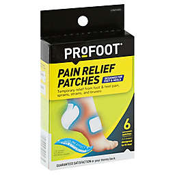 ProFoot® 6-Count Pain Relief Patches