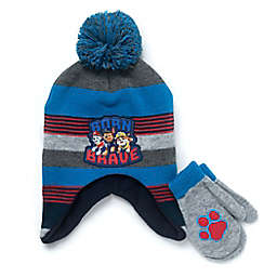 Nickelodeon™ 2-Piece Paw Patrol Hat and Mitten Set in Grey