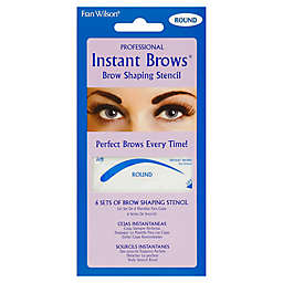 Fran Wilson® Professional Instant Brows® Brow Shaping Stencil in Round (Set of 6)