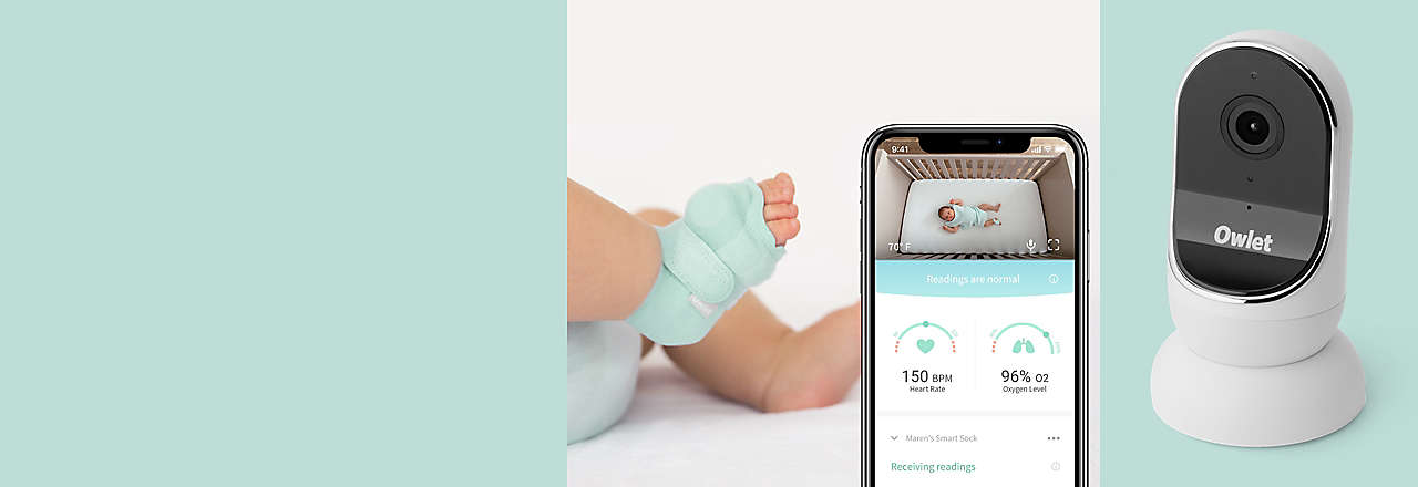 Freedom From Worry - Owlet Smart Sock
