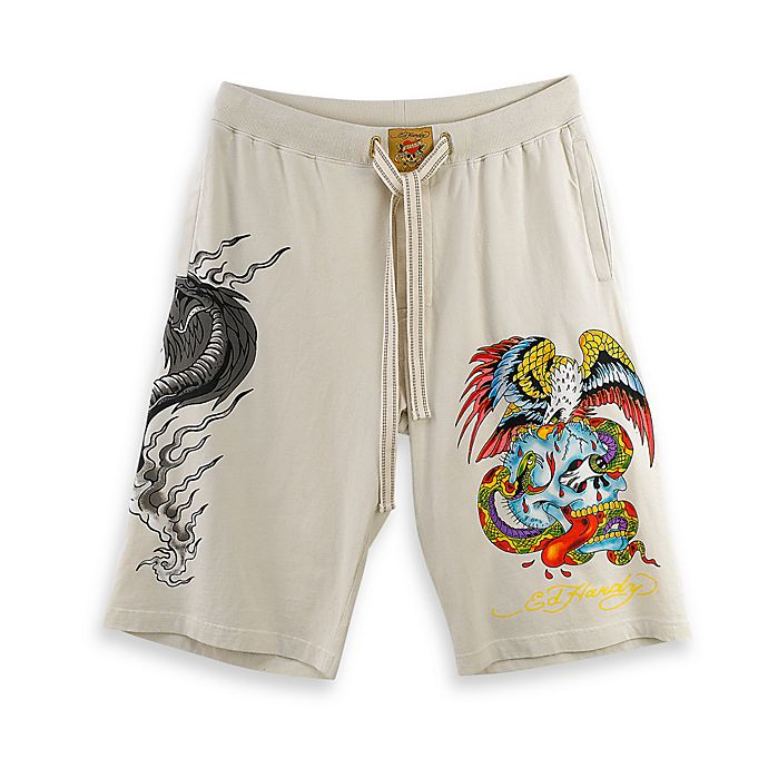 9b770fa7e7904 Ed Hardy® Ivory Men's Size Large Loungewear | Bed Bath & Beyond