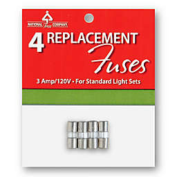 National Tree Company 4-Pack Replacement Light String Fuses