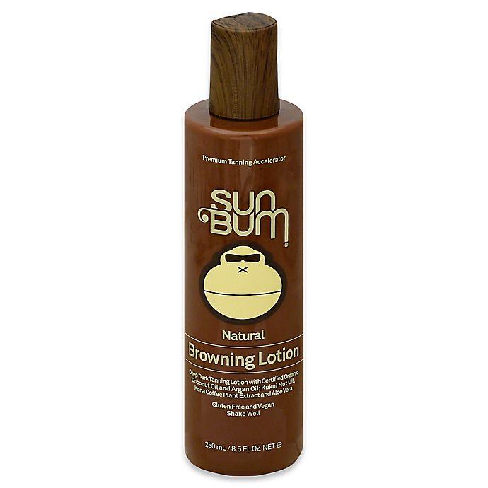 Alternate image 1 for Sun Bum® 8.5 oz. Premium Natural Browning Accelerator Lotion