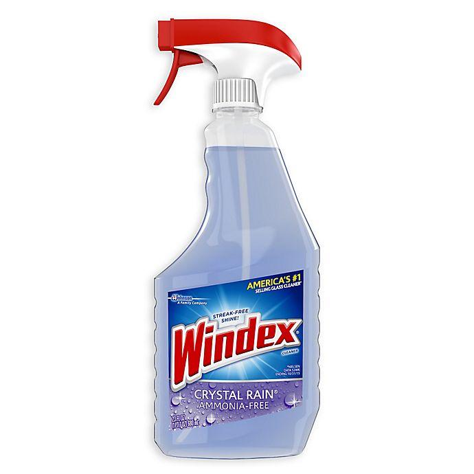 Alternate image 1 for Windex® Crystal Rain 23 oz. Trigger Glass Cleaner