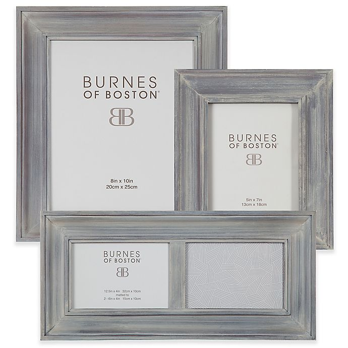 Burnes Of Boston Wood Picture Frame In Grey Bed Bath And Beyond Canada