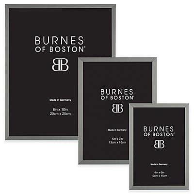 Burnes of Boston Metal Picture Frame in Black Nickel