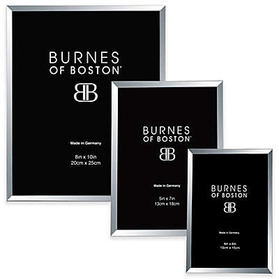 Burnes of Boston Metal Picture Frame in Silver