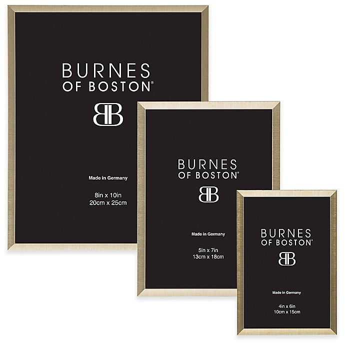Alternate image 1 for Burnes of Boston Metal Picture Frame in Gold