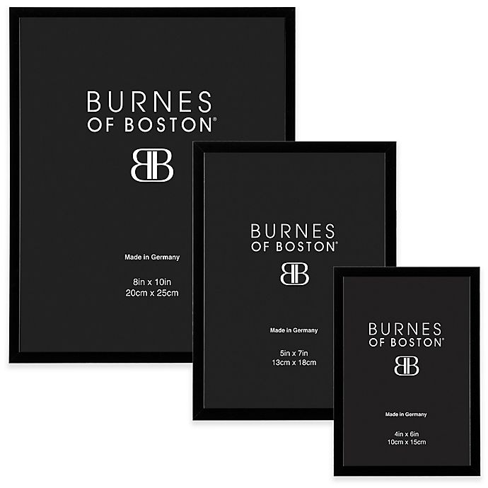 Burnes Of Boston Metal Picture Frame In Black Bed Bath Beyond