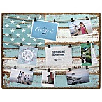 Malden® 14-Photo 21-Inch x 27-Inch Coastal Flag Wood Collage Picture Frame