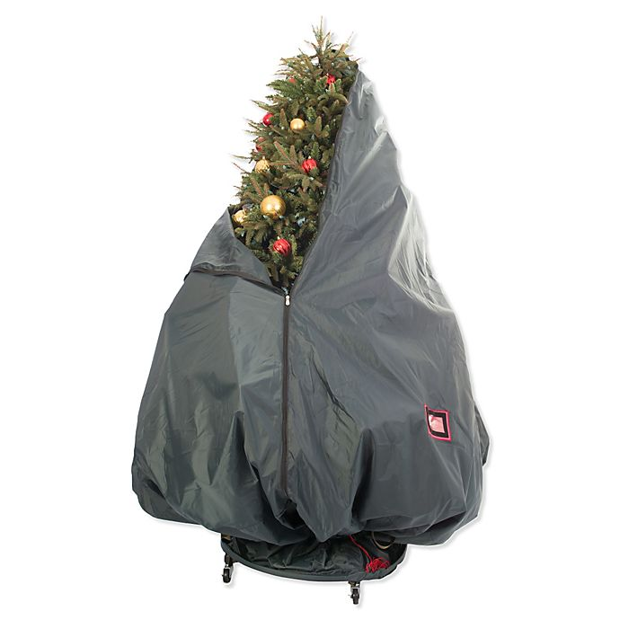 Alternate image 1 for Treekeeper™ Patented Upright Rolling Decorated Tree Storage Bag