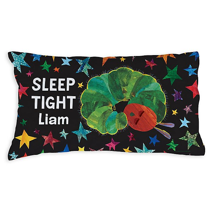 Very Hungry Caterpillar Sleep Tight Pillowcase In White