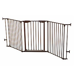 Dreambaby® Newport Adapta-Gate in Brown