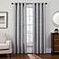 Part of the Sharper Image® Bradford Grommet Top Snap-In Window Curtain Panel