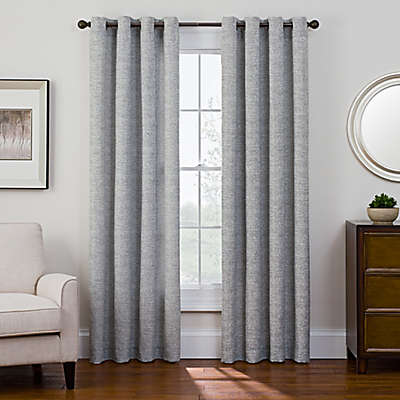 Sharper Image® Bradford Grommet Top Snap-In Window Curtain Panel