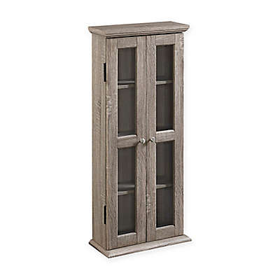"""Forest Gate 41"""" Logan Traditional Wood Media Cabinet"""